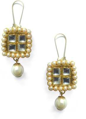 Abhika Jewels Out-of-the-box Brass Dangle Earring