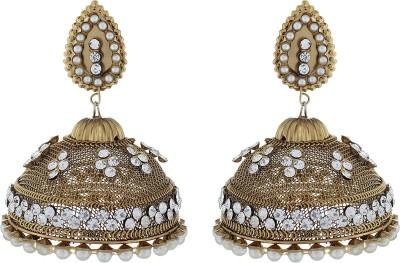 The Gallery Bhabhi G Jhumka Zircon Alloy Jhumki Earring