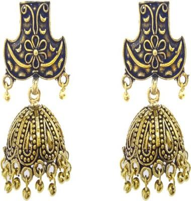 Gurjari BALIGOLD Brass Jhumki Earring