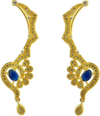 Maalyaa LATEST COLLECTIONS Brass, Copper Cuff Earring