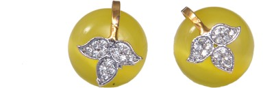 JEWELS ART Brass Stud Earring