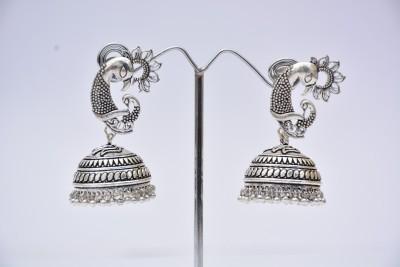 Cindrella S Arte E Manifattura German Silver Brass Jhumki Earring