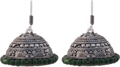 T M FASHIONS Latkan Bali German Silver Jhumki Earring