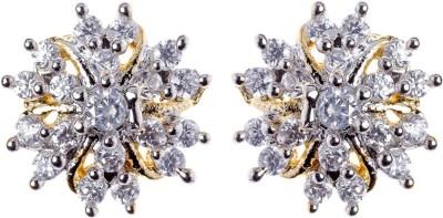 Rays SES234 Cubic Zirconia Copper Stud Earring