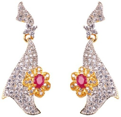Dipshi New Style Partywear A D Stone Beautiful Fancy Antique Copper Drop Earring