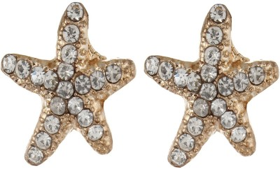 Fayon Chic Style Unique Golden Star Fish Ear band For Both Ear Alloy Clip-on Earring