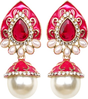 Inaya Everyday::Religious::Wedding & Engagement Brass Jhumki Earring