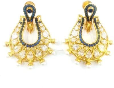 Swetha Antique Copper Chandbali Earring