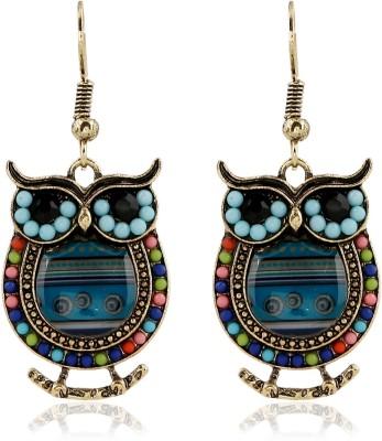 Kyra Ethnic owl Alloy Dangle Earring