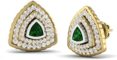 Joyra Attractive Swarovski Zirconia Sterling Silver Stud Earring
