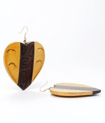 Anmol Anmol-EX-10 Wood Dangle Earring
