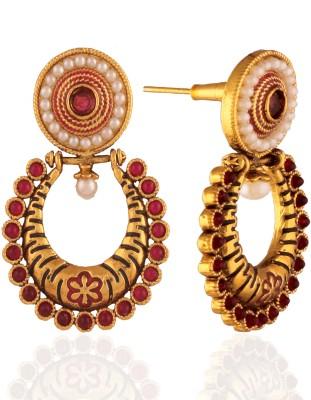 Panini Brass Chandelier Earring