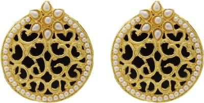 Ishaani 7 in 1 Copper, Plastic Stud Earring