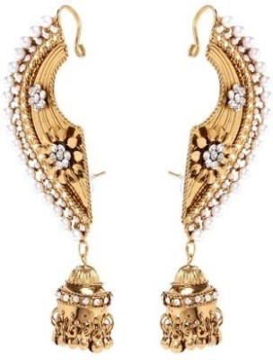 Shilpi Handicrafts Golden Designer Alloy Cuff Earring