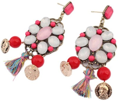Jewel Touch Ethnic Fashion Series Alloy Drop Earring