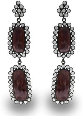 SuvidhaArts Elegant Design Brass Drop Earring