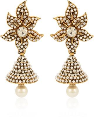 Jewels Galaxy Alloy Jhumki Earring