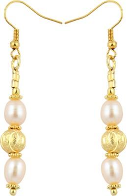 Pearlz Ocean Excitement Pearl Alloy Dangle Earring