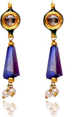 Ratnakar Sparkle Copper Drop Earring