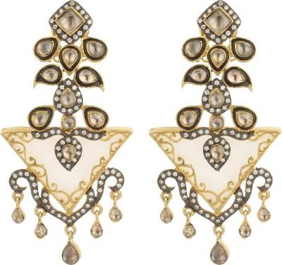 Dilan Jewels EAR000050 Mother of Pearl Alloy Dangle Earring