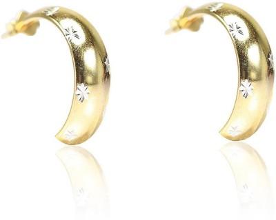 LeCalla AF11762T Sterling Silver Huggie Earring
