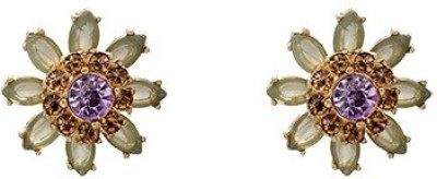 A Bit of Me Floral Charm Alloy Stud Earring