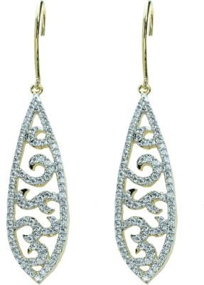 Womanwa Bejewelled Metal Dangle Earring