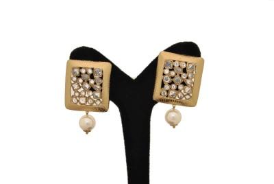 Arohi Jewells & Gems AJG25 Copper Earring Set