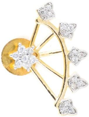 KANISH Ravishing Gold Alloy Cuff Earring