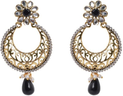 Graykart fashion imitation antique handmade temple traditional Artificial Jewellery Zinc Drop Earring