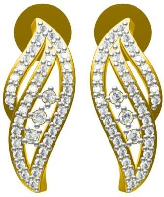 Sakshi Jewels Urban Lady Diamond Gold Stud Earring