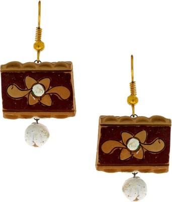 Anuradha Art Terracotta Terracotta Dangle Earring