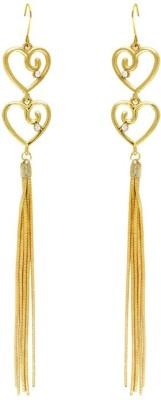 Savvy Designer Brass Tassel Earring