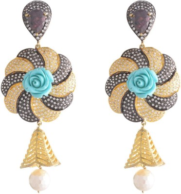 Neckies AFADER Yellow Gold Drop Earring