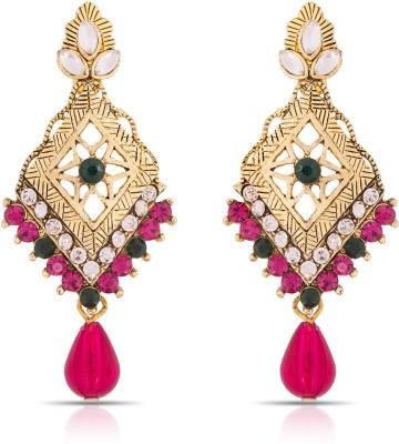Luxor Designer Charm Alloy Drop Earring