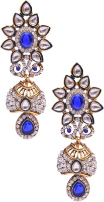 Rubena CZ Alloy Drop Earring
