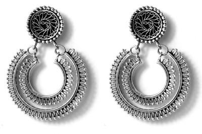 Triblen Jewel Triblejewellery Silver Chandbali Earring
