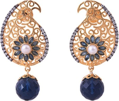 Dulhan 3 Zircon Alloy Drop Earring