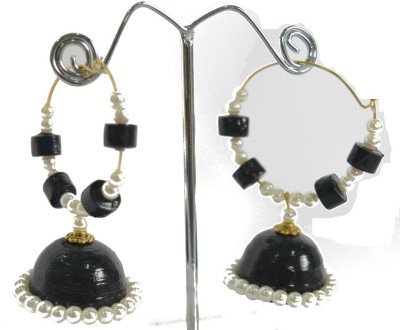 Paperiva Classic Quilled Paper Jhumki Earring