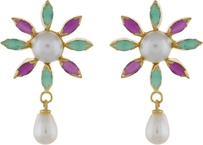 Classique DesignerJewellery Dazzling Pearl Alloy Earring Set