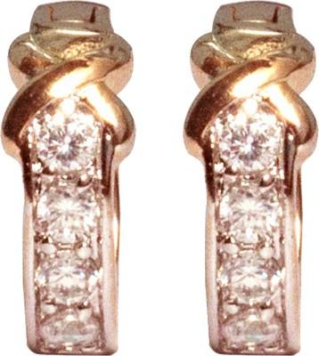 Sparkling Trinkets Gold Alloy Stud Earring