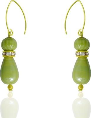 Kenway Retail Gaiety Beadola Metal, Glass Dangle Earring