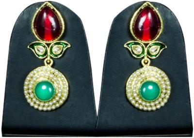 Paradise Delight Jhumki Brass, Copper Drop Earring