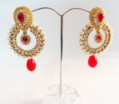 Vidya Ventures Trendy Look Alloy Chandbali Earring