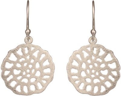 Mirror White Classic Silver Drops Silver, Metal Dangle Earring