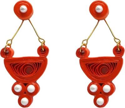 Charvee Swing Paper Drop Earring
