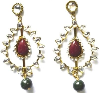 Edenoverseas 357 Metal Drop Earring