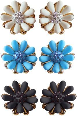 moKanc Exotic Crystal Plastic Earring Set at flipkart