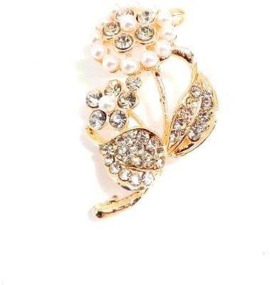 High Fashion Rose Gold Metal Drop Earring