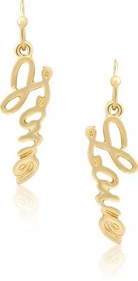 Circuzz Brass Drop Earring
